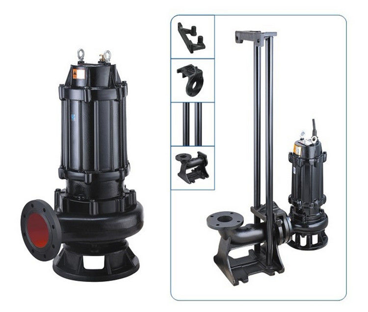 Cold Rotor Stator Cast Iron Sewage Pump OEM Accepted Easy Installation
